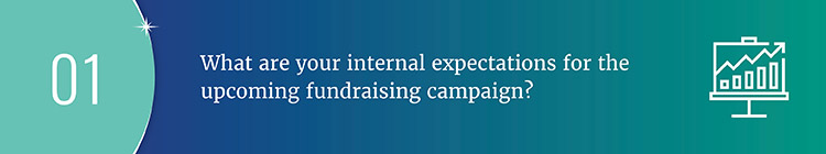 Ask fundraising feasibility study questions to determine your nonprofit's expectations for the upcoming campaign.