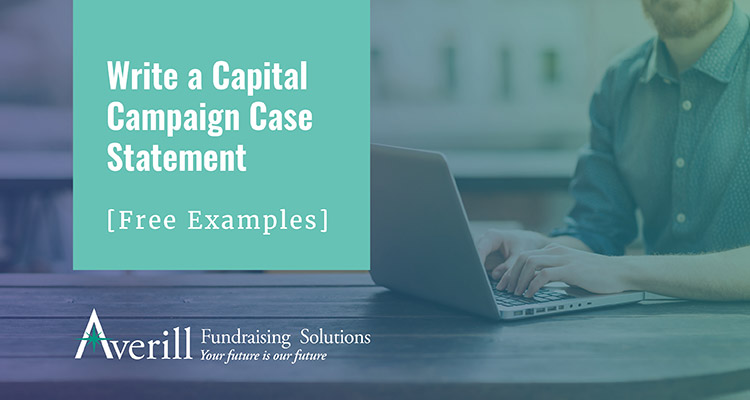 write a capital campaign case statement free examples averill