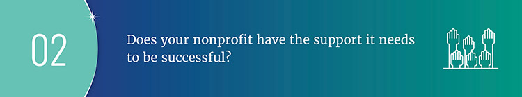 Determine whether or not your campaign is sufficiently supported by asking key fundraising feasibility study questions.