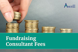 Find out the fees associated with hiring a fundraising consultant.