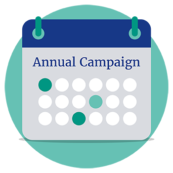Create an annual fundraising appeals calendar.