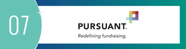 Pursuant is a great nonprofit fundraising consultant for developing stronger relationships with donors.