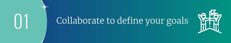 Collaborate to define your nonprofit strategic planning goals.